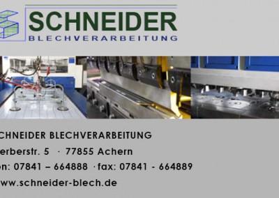 Schneider Blechverarbeitung