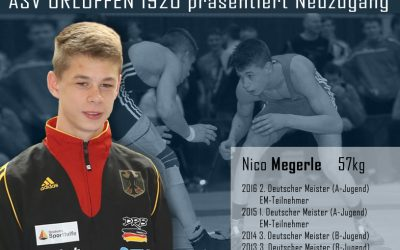 ASV präsentiert Neuzugang Nico Megerle