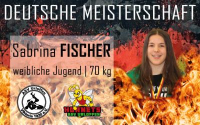 Sabrina Fischer startet bei der Deutschen Meisterschaft in Bönen