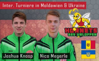 ASV Athleten gingen in Moldawien und der Ukraine auf die Matten