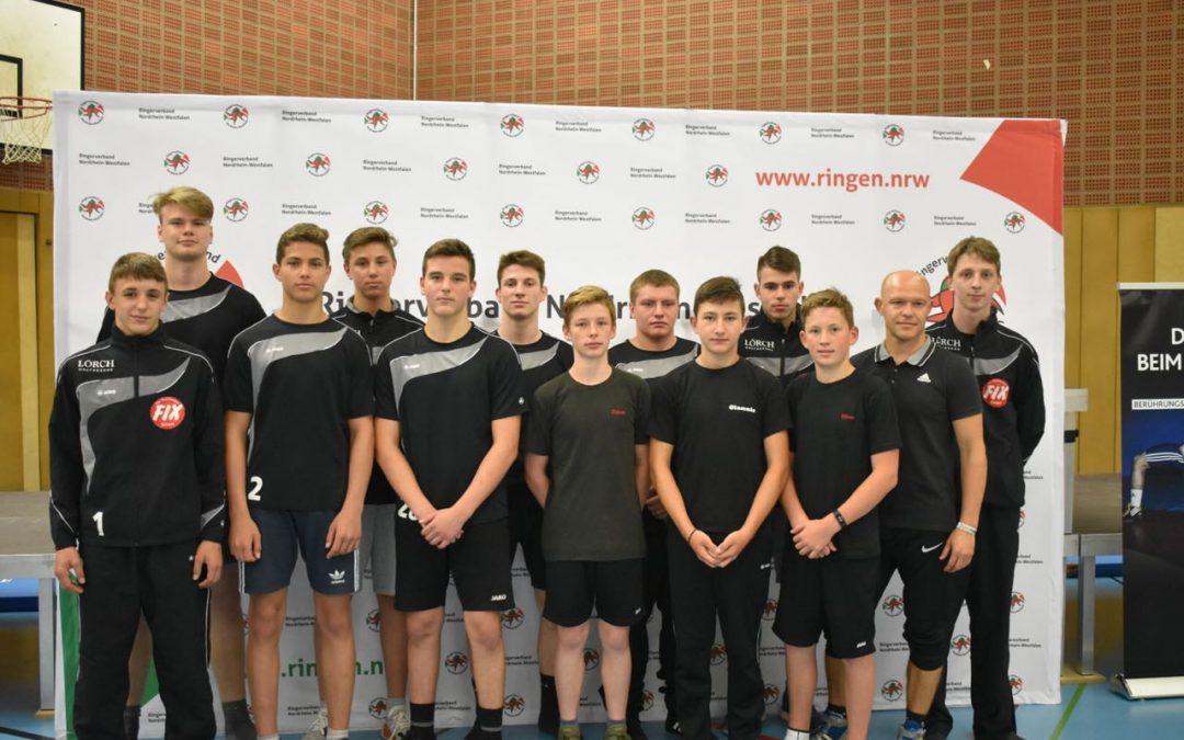 ASV Jugend erringt 9. Platz bei den Deutschen Mannschaftsmeisterschaften