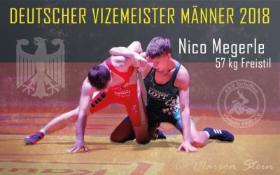 Nico Megerle erringt Deutschen Vizemeistertitel