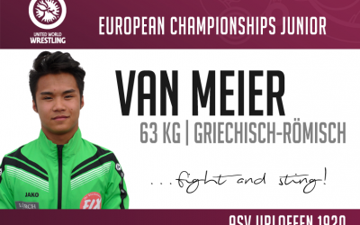 Van Meier startet bei der Junioren Europameisterschaft in Rom