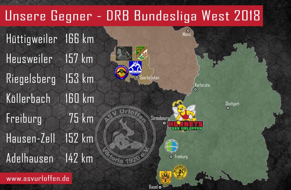 ASV Urloffen startet gemeinsam mit weiteren 7 Teams in der DRB Bundesliga West