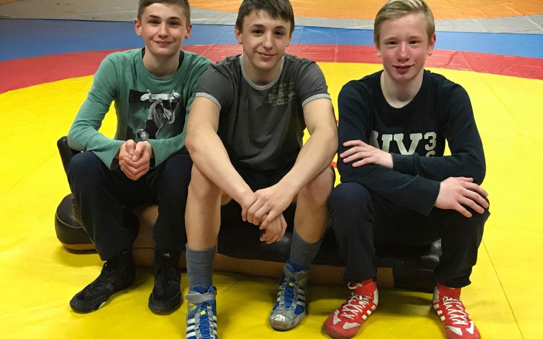 Drei Ringer des ASV Urloffen starten bei den Deutschen Meisterschaften der B-Jugend