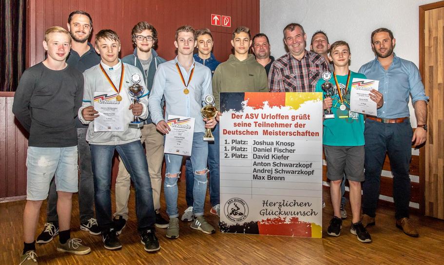 Joshua Knosp gewinnt Deutschen Meistertitel