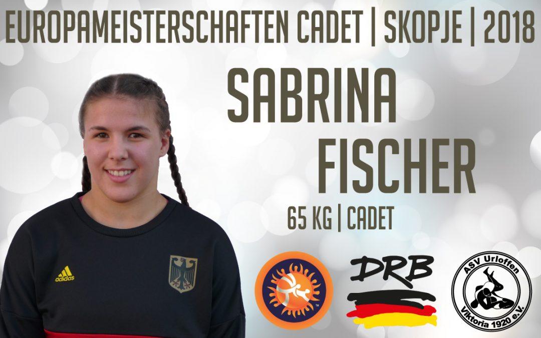 Sabrina Fischer vom ASV Urloffen kämpft in Skopje bei der EM