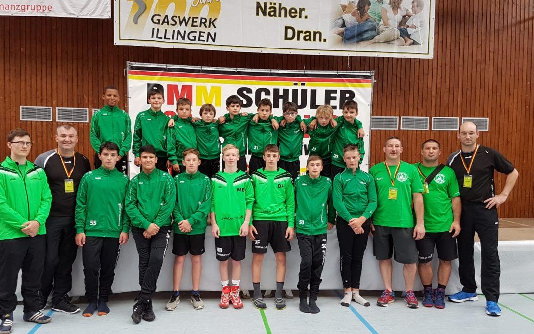 ASV Schüler erringen 6. Platz bei den Deutschen Mannschaftsmeisterschaften