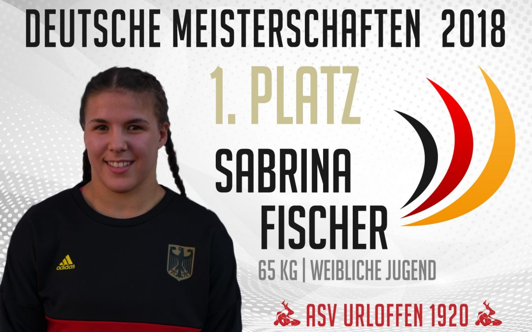 Sabrina Fischer vom ASV Urloffen erringt Deutschen Meistertitel
