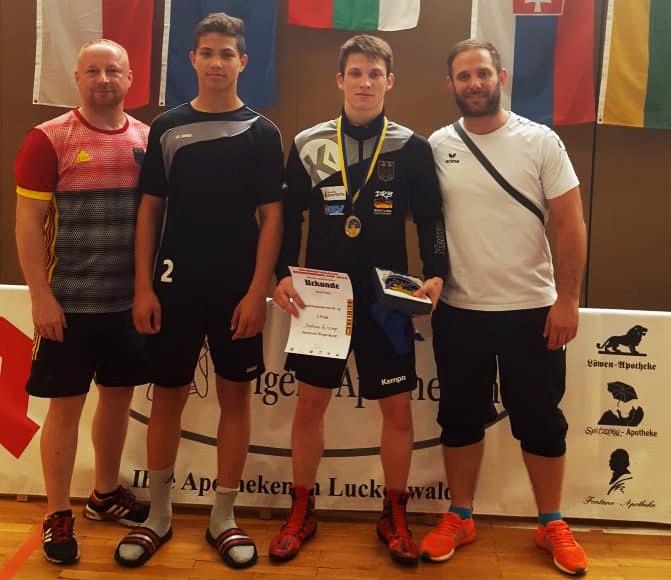 Int. Brandenburg Cup – Joshua Knosp erringt Platz 2 und Andrej Schwarzkopf den 9. Platz.