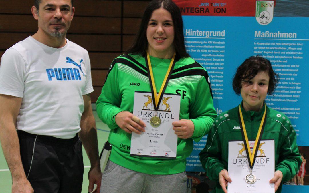 Sabrina Fischer wird Baden-Württembergische Meisterin – Katharina Huber erringt den Vizemeistertitel