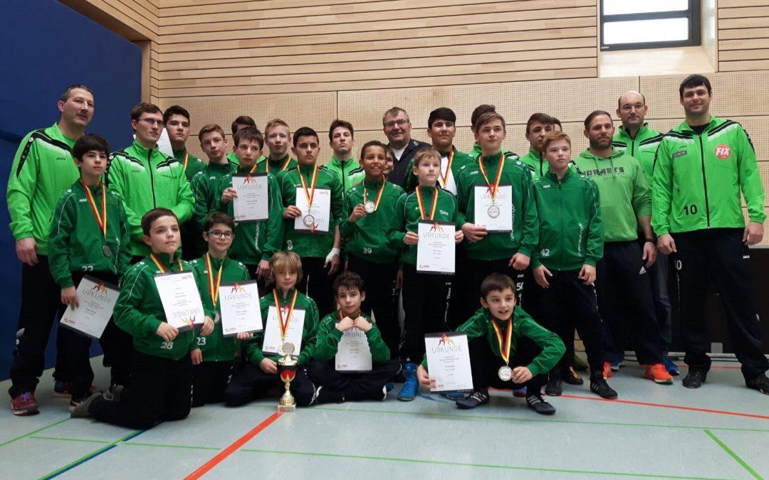 ASV Jugend wird Südbadischer Vizemeister bei der der C-/D-Jugend und der A-/B-Jugend und qualifiziert sich für Deutsche Meisterschaften