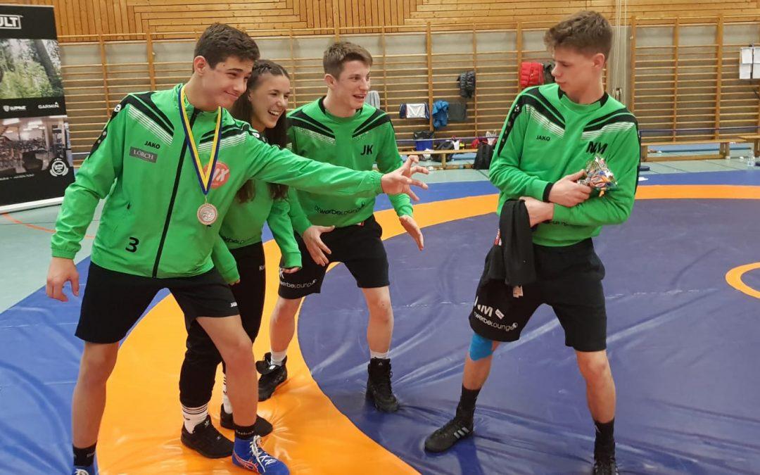 Gold und Bronze für Urloffener Athleten bei den Austria Open