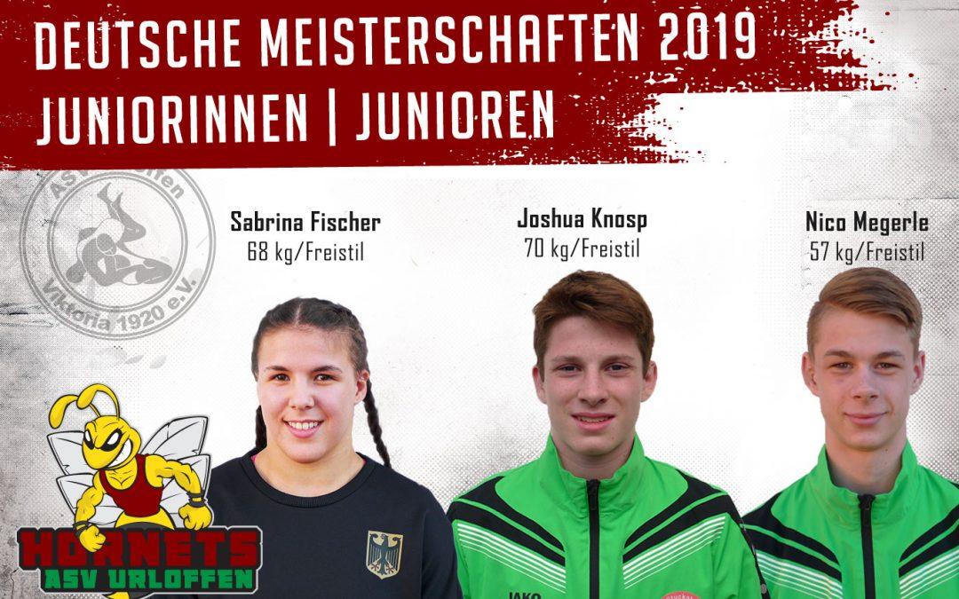 Drei Athleten aus der ASV-Talentschmiede sind am Wochenende bei den Deutschen Meisterschafen am Start