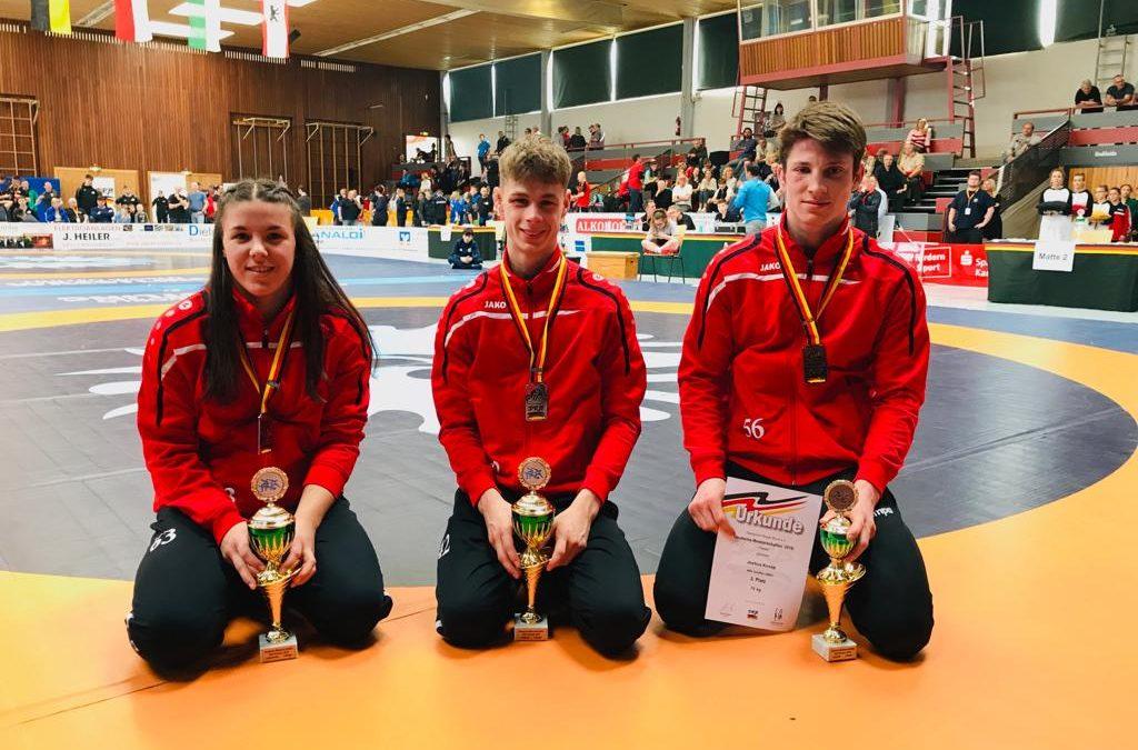 Alle drei ASV`ler auf dem Treppchen – Deutsche Meisterschaften Junioren/Juniorinnen