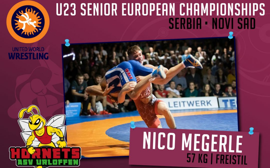 Nico Megerle startet bei den Europameisterschaften U23 in Serbien