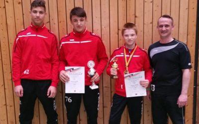 Starker Auftritt der Hornets bei der Deutschen A-Jugend Meisterschaft in Ladenburg