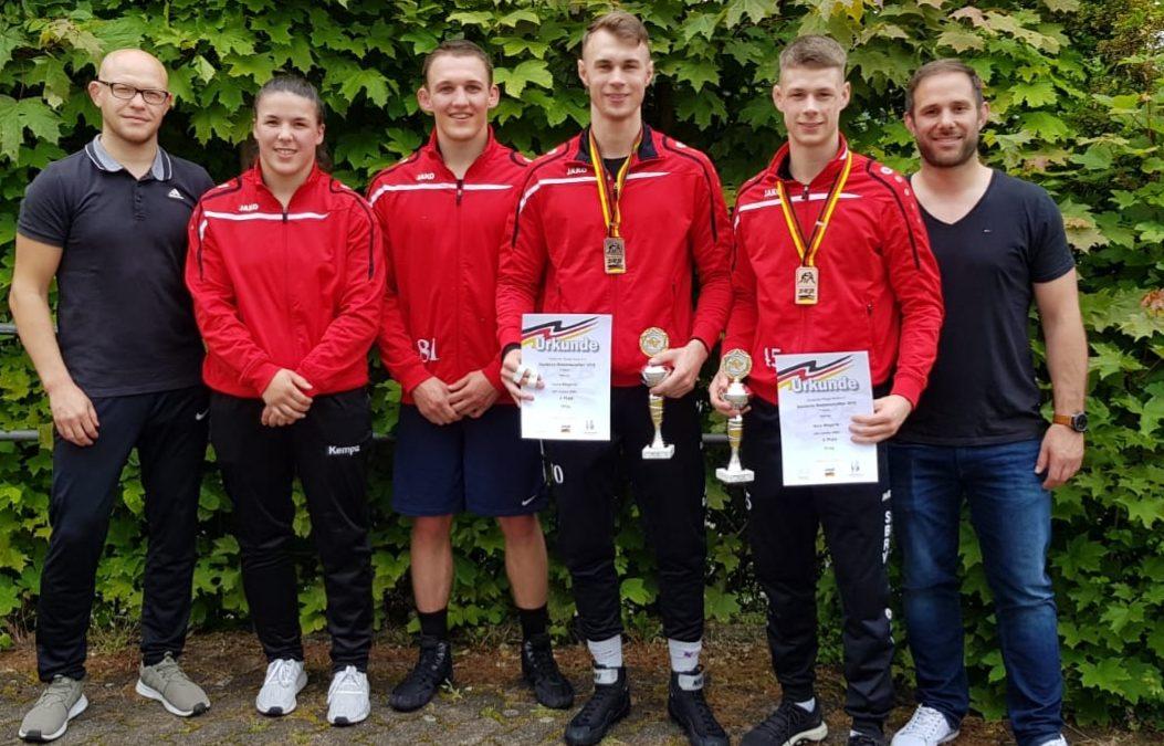Deutsche Meisterschaft Männer/Frauen Freistil – Bronze für Megerle Brüder