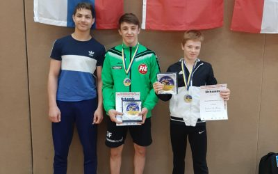 Daniel Fischer erringt Bronze beim Internationalen Brandenburg-Cup in Luckenwalde