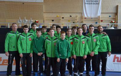 ASV Urloffen belegt einen guten 6. Platz bei der Deutschen Mannschaftsmeisterschaft der Jugend (14-18 Jahre)