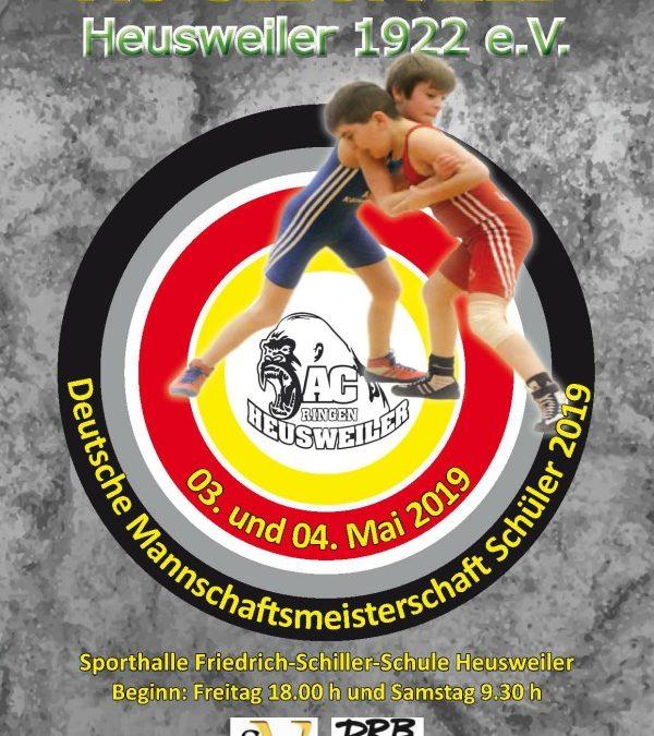 ASV Jugend startet bei der Deutschen-Mannschaftsmeisterschaft der Schüler