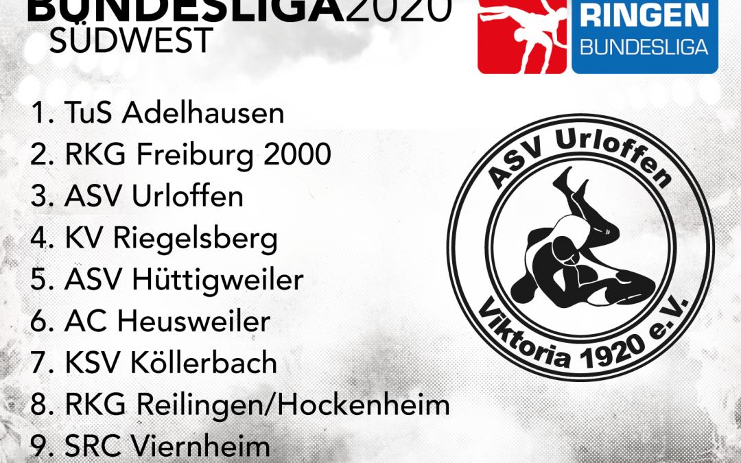 Einteilung für die Bundesliga-Saison 2020 steht!