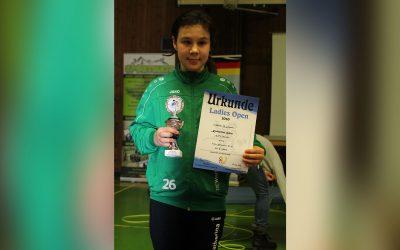Erfolgreicher Start bei den Ladies Open für Katharina Huber
