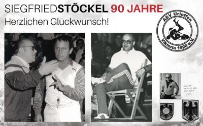 Trainerlegende Siegfried Stöckel wird 90 Jahre!