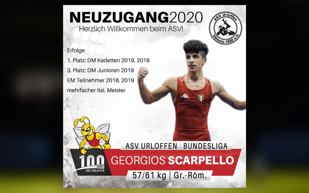 Georgios Scarpello wechselt ins Meerrettichdorf