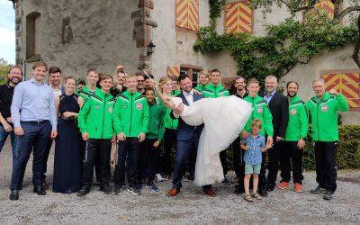 Christian Sauer heiratet seine Steffi
