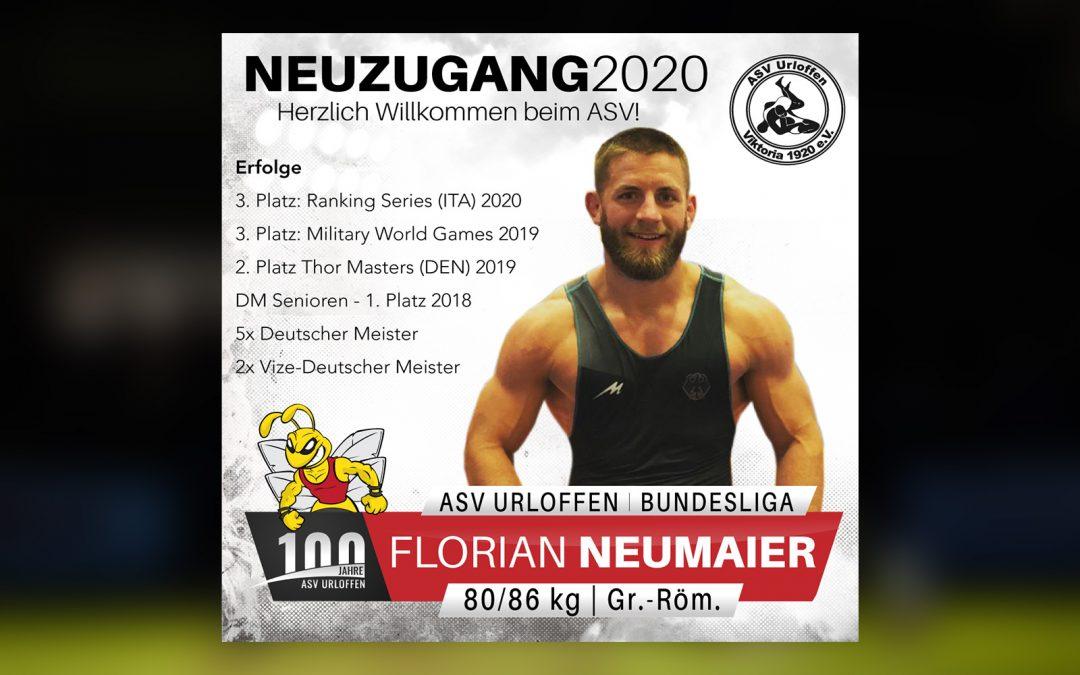 Florian Neumaier wechselt zu den Hornets!