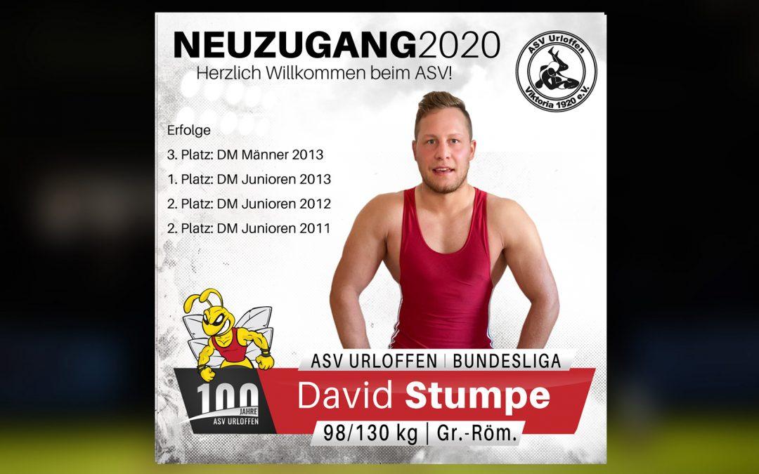 +++ David Stumpe wechselt zum ASV +++