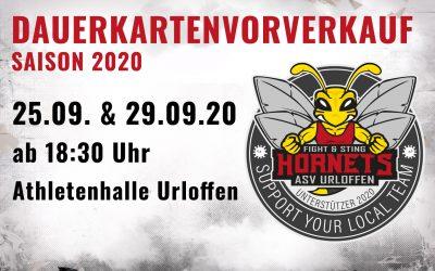 Dauerkartenverkauf für Saison 2020 startet am 25. September 2020