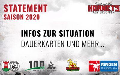 Statement zur Beendigung der Bundesligasaison | Dauerkarten | Coins