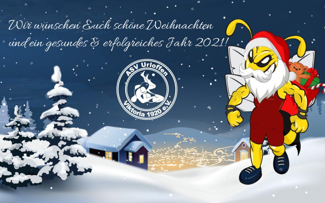 Schöne Weihnachten und ein gesundes & erfolgreiches Jahr 2021!