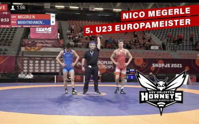 U23 Europameisterschaft – Super Leistung von Nico Megerle wird leider nicht mit einer Medaille belohnt
