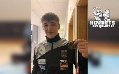 Daniel Fischer erringt Bronze bei den Europameisterschaften