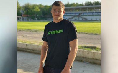 ASV-Neuzugang Lucas Lazogianis startet bei den Europameisterschaften der Junioren