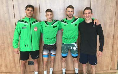 Nico Megerle gewinnt Kaderturnier & Junioren Ringer Andrej Schwarzkopf mit Achtungserfolg
