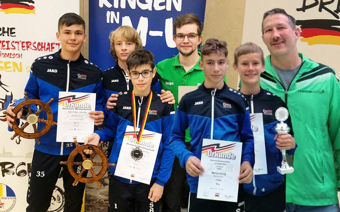 Florian Ludwig vom ASV Urloffen erringt den Deutschen Vizemeistertitel der B-Jugend