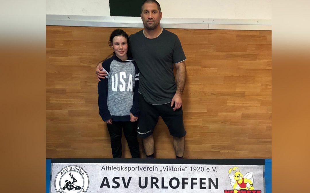 Katharina Huber vom ASV Urloffen startet bei der Deutschen Meisterschaft der Schoolgirls